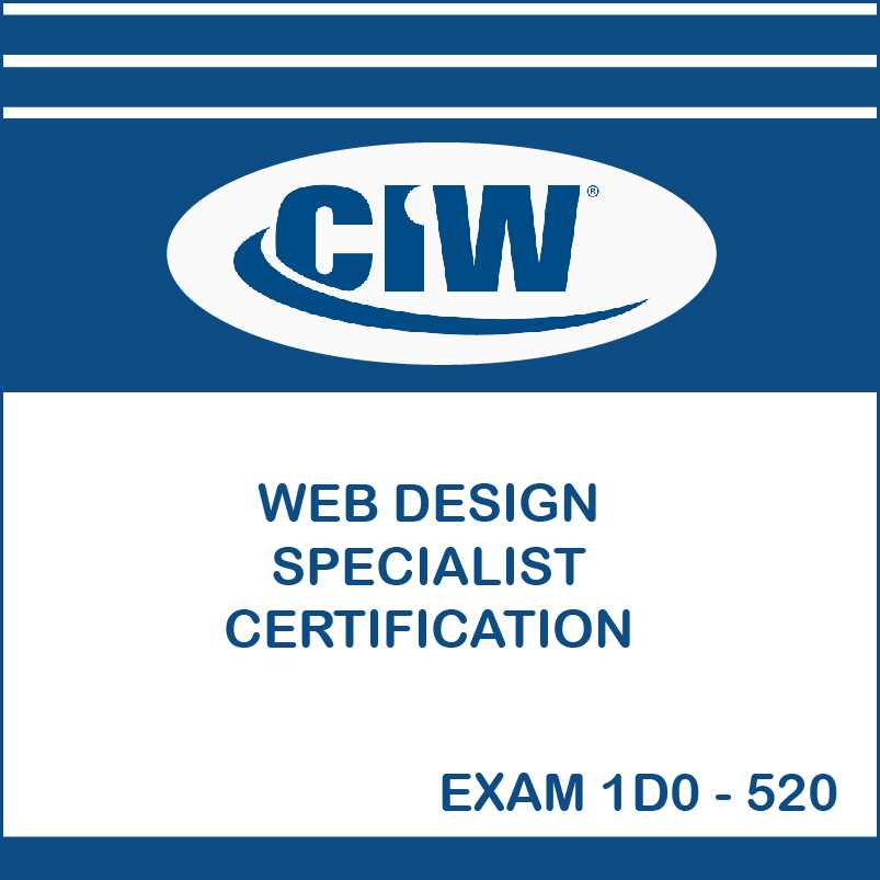 Ciw Web Design Specialist Certification Exam 1d0 520 It Support Web Software Development It Training Courses In North East